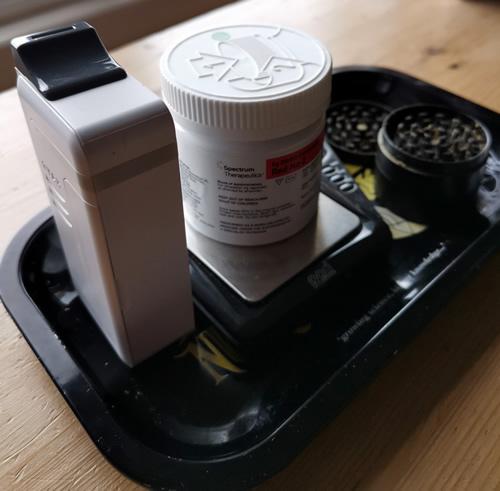 Medical Cannabis Tray