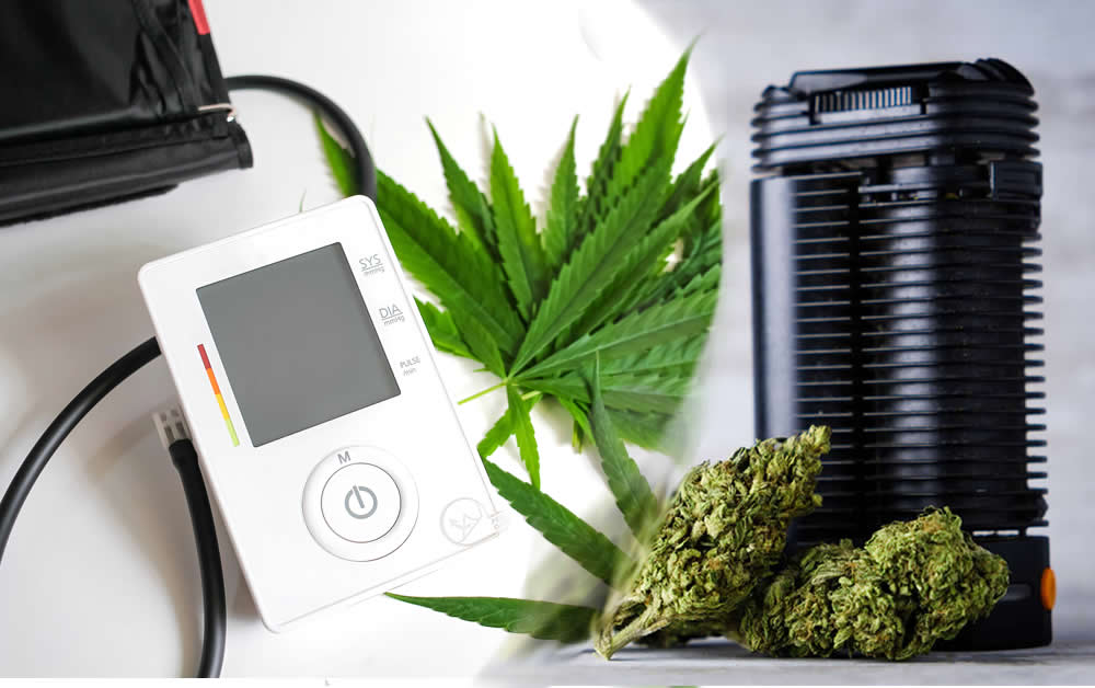 Cannabis reduces Blood pressure in older people.
