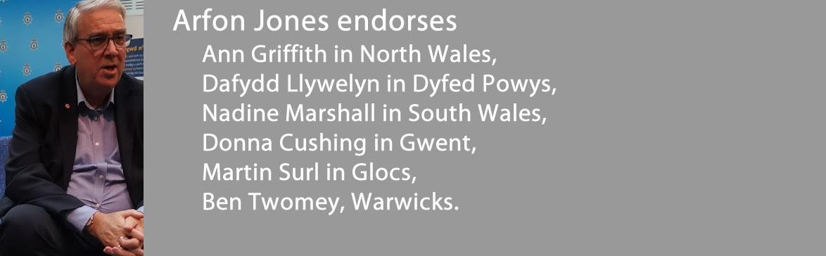 Arfon Jones Endorses